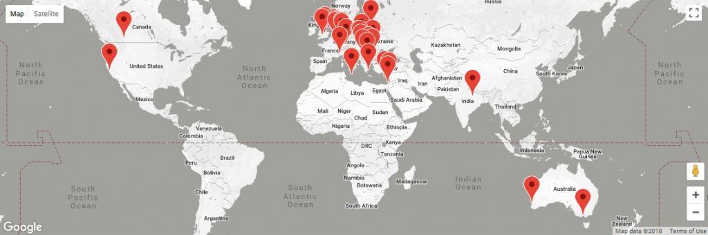 Χάρτης Εξαγωγών Hanta Systems Company